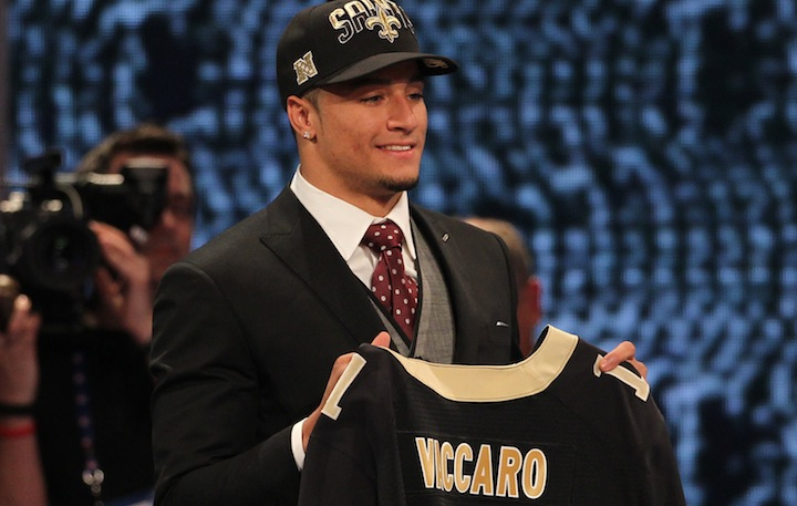 Saints signer Vaccaro