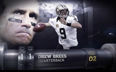 Brees nummer 11 i NFL