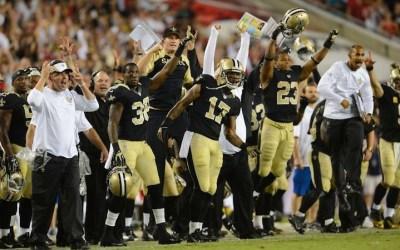 Saints var heldige i Tampa