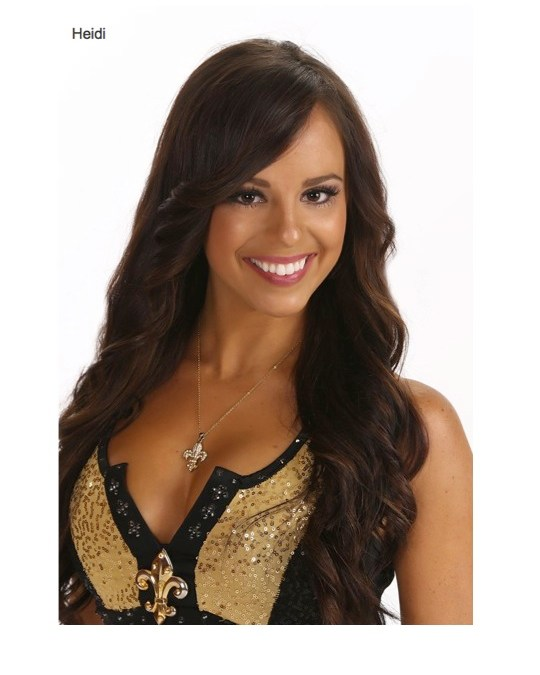 New Orleans Saints Saintsations Swimsuit Photos