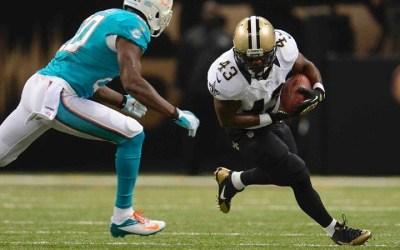 Saints vinder stort over Dolphins
