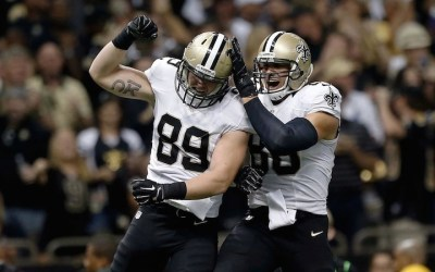New Orleans Saints fritstiller to tight ends