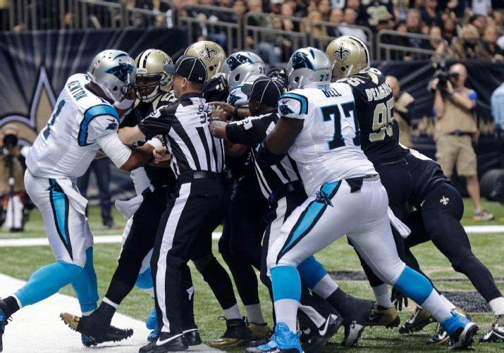 Panthers Saints