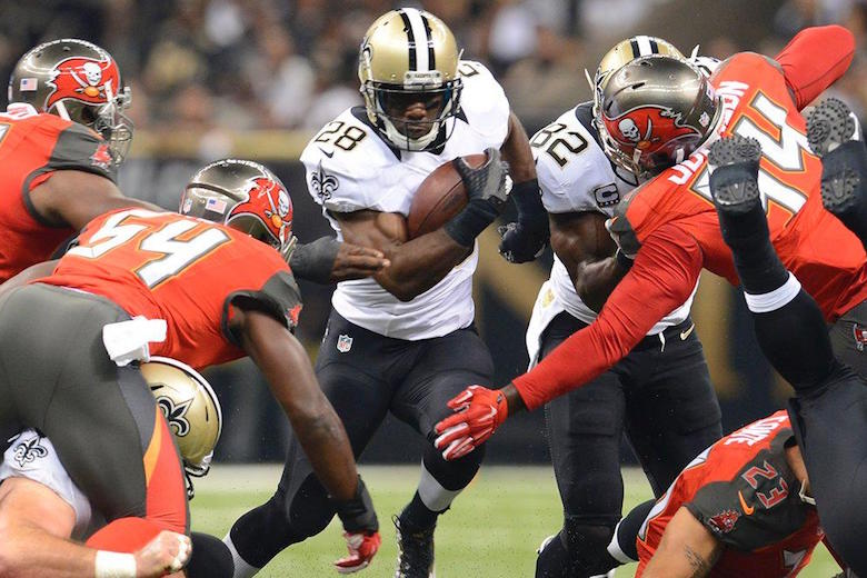Buccaneers 26, Saints 19