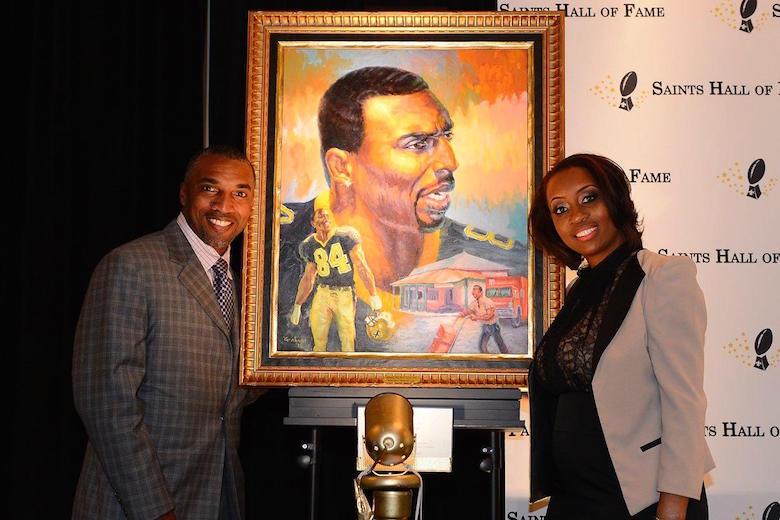 Saints introducerer to i Hall Of Fame