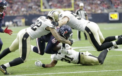 Saints 6, Texans 24