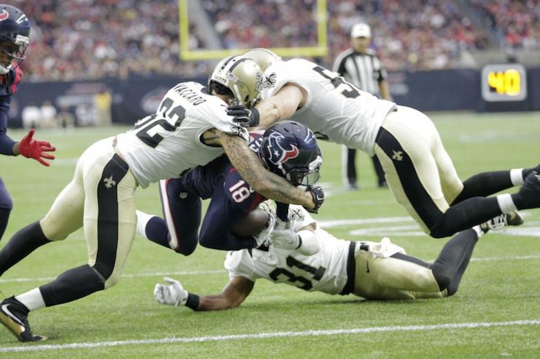 Saints 6, Texans 24