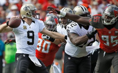 Saints 24, Buccaneers 17