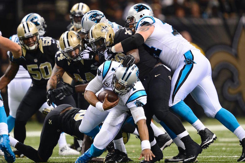 Panthers 41, Saints 38