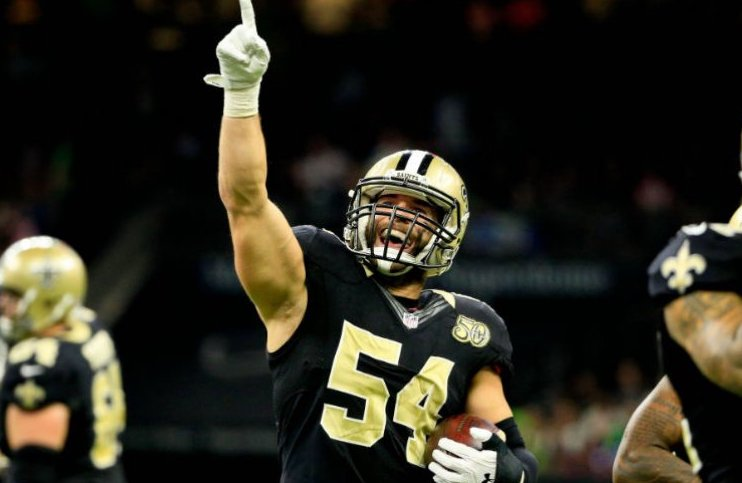 Saints mister linebacker Nate Stupar for sæsonen