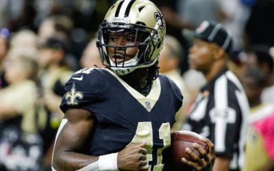 Alvin Kamara vinder rookie of the week og FedEx Ground