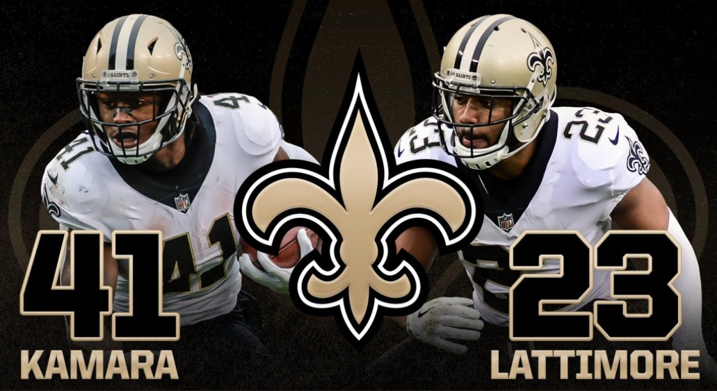Alvin Kamara og Marshon Lattimore kåret som offensiv og defensiv rookie of the year
