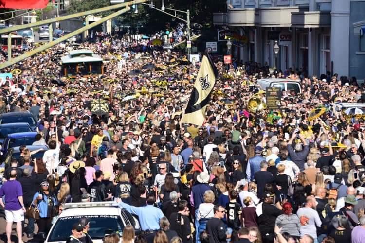 New Orleans festede, mens resten af verden så en af historiens kedeligeste Super Bowls