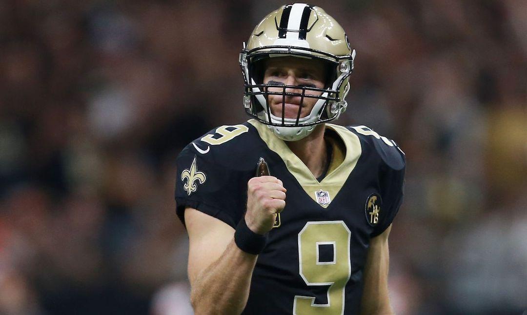 Drew Brees har kastet flest touchdowns i NFL historien