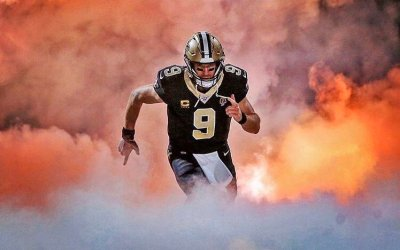 Drew Brees spiller i 2020
