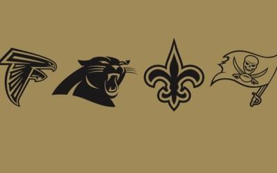 Hvem kommer i slutspillet fra NFC South?