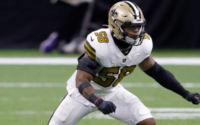 New Orleans Saints signer Kwon Alexander
