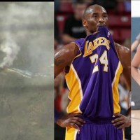 NBA legend  Kobe Bryant dies - Kobe Bryant Helicopter crash Footage