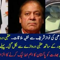 Video: Dr Maleeha Lodhi Secretly Meets Nawaz Sharif in London