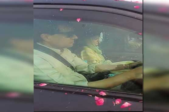 Maryam Nawaz crosses toll plaza without paying toll tax similar to colonel wife