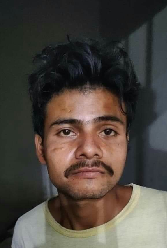 The man identified as Siddique arrested in Rukhsar Odho rape and murder Case