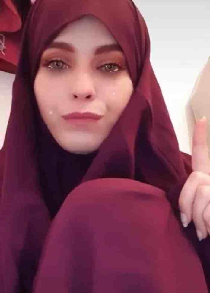 European girl converts to Islam