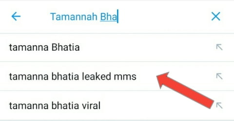 People search for Tamanna Bhatia leaked mms video