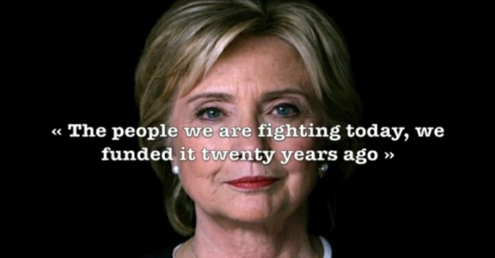 We created al Qaeda and left Pakistan to deal with it, says Hillary Clinton