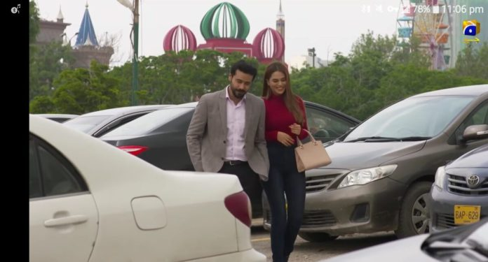Image of the car from another angle shown in Drama Serial Deewangi