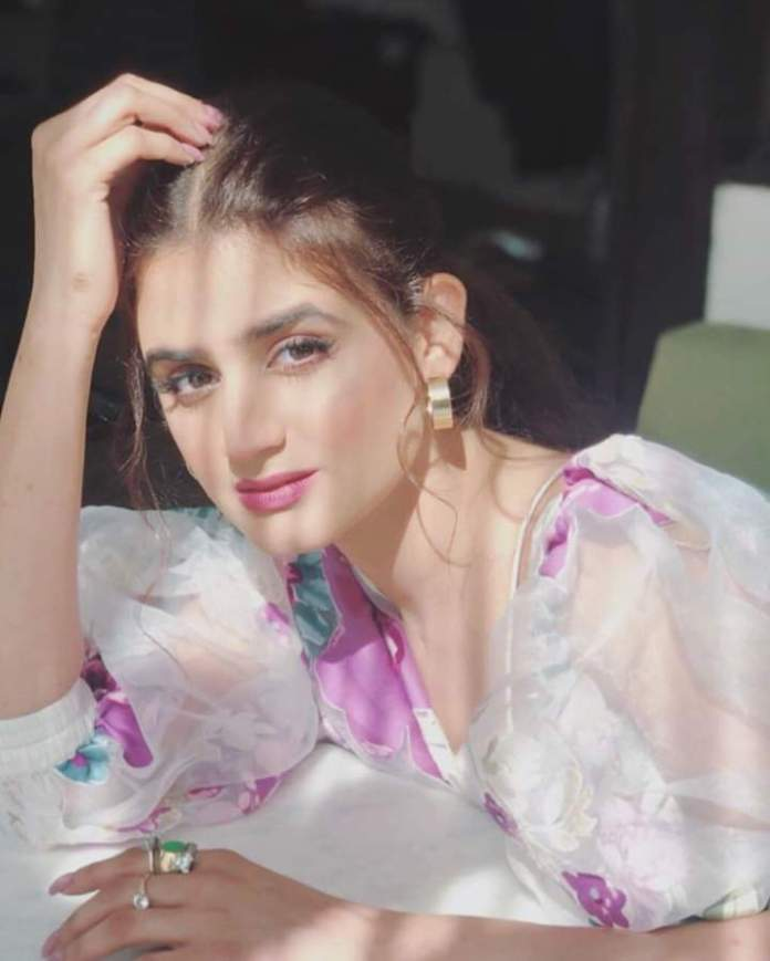 Actress Hira Mani most viral picture