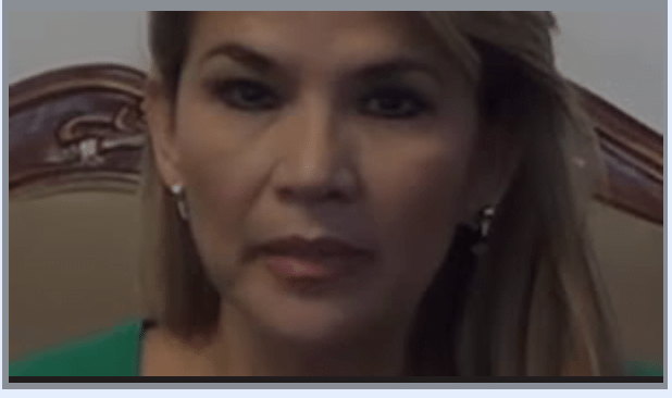Bolivian president leaked video with her driver