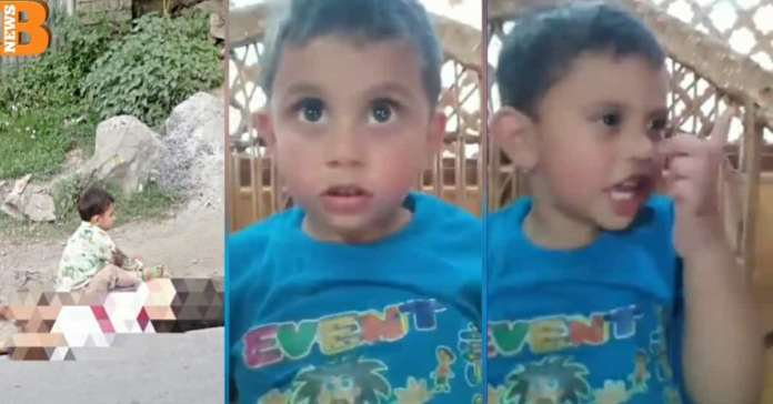 """Police Killed My Grandfather"" Three-Year-old Kashmiri Child Tells about Sopore Encounter"