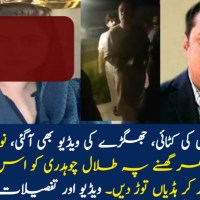 Video Talal Chaudhry Beaten by Brothers of PML-N's female Leader