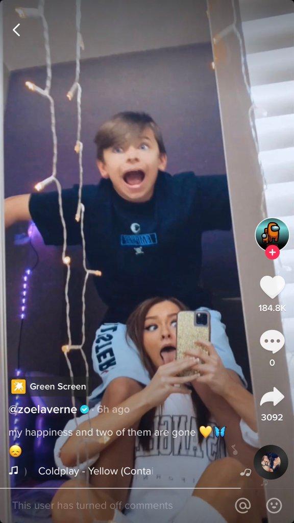 Zoe Laverne Connor Joyce leaked video sparked criticism against TikTok star Zoe Laverne