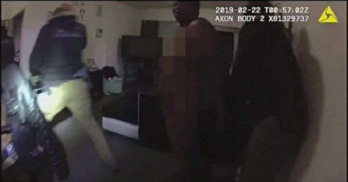 Chicago police raid video reveals on Feb. 21, 2019, nine body cameras rolled as a group of male officers entered her home at 7 p.m. Not long before, the licensed social worker finished her shift at the hospital and had undressed in her bedroom