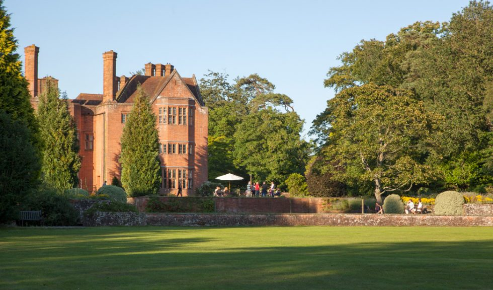 The lawn at New Place Hotel - Hampshire