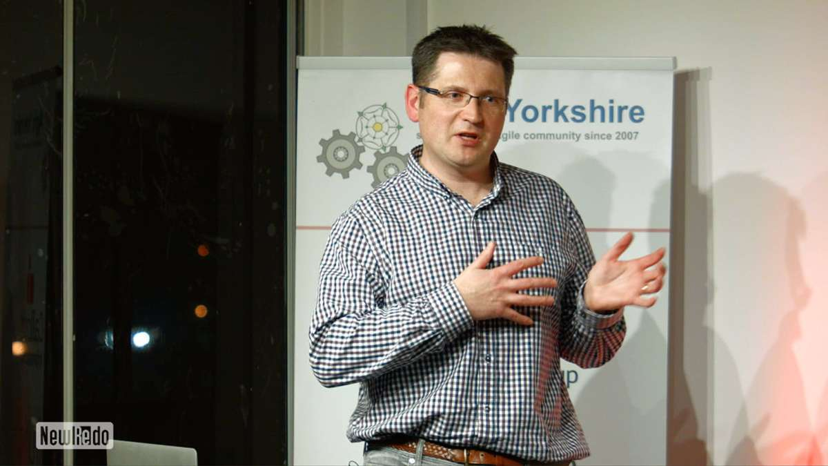 James Hull at Agile Yorkshire