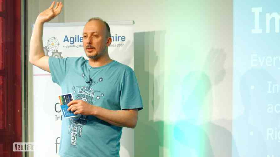Mike Burrows at Agile Yorkshire