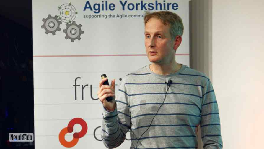 Karl Scotland at Agile Yorkshire