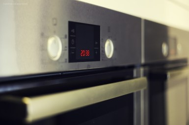 Bosch oven in stainless steel