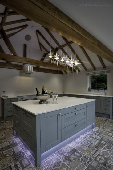 Kitchen Stori Madison light blue painted kitchen