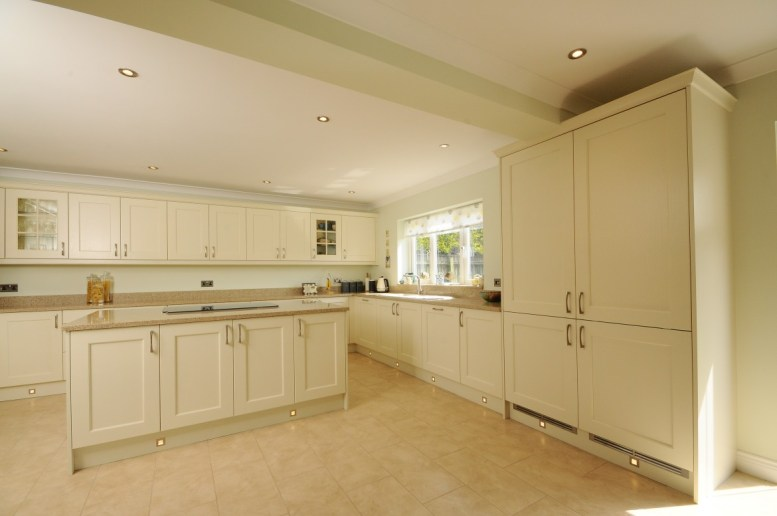 Contemporary Shaker Ivory Painted Kitchen Newrooms