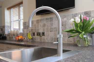 Quooker PRO3 Fusion Tap in Brushed Chrome