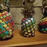 Fibonacci numbers in pineapples