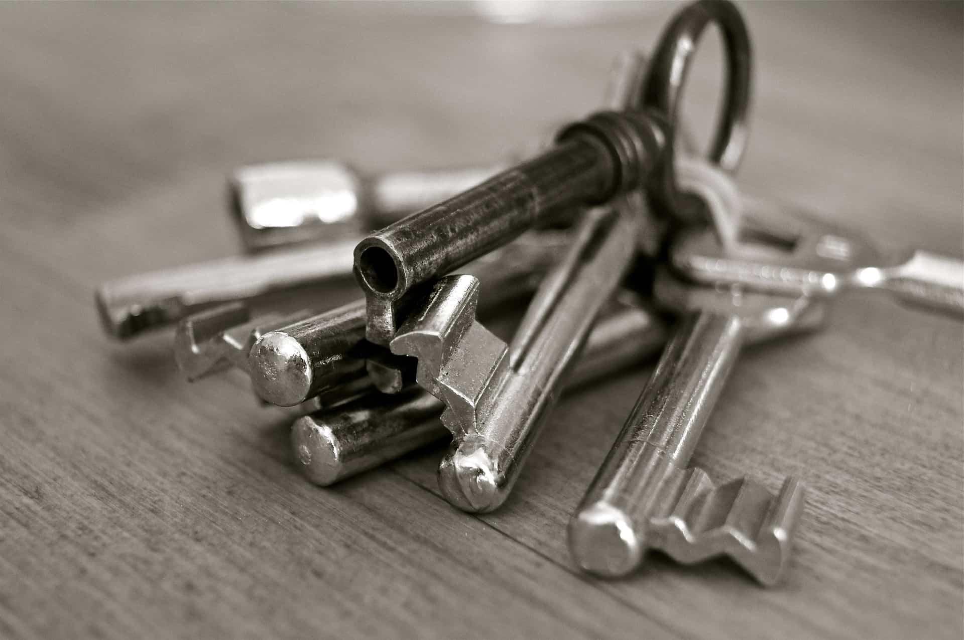 Comment faire la différence entre les différentes clés de son trousseau