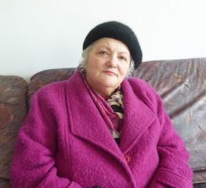 Profesoara pensionară Ana Rusu