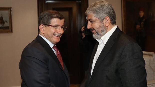 Лидер ХАМАС Машаль встретился с Давутоглу