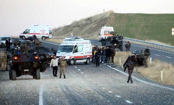 Теракт унес жизни 4 солдат в Хаккяри