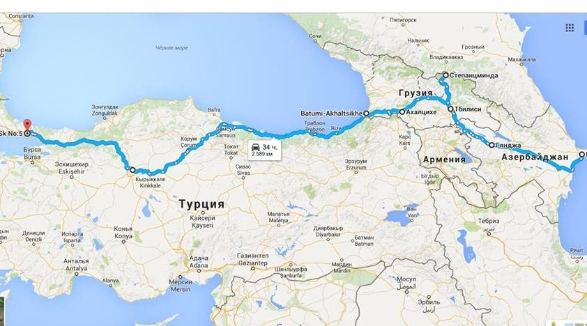 Поезда Баку-Тбилиси-Стамбул запустят уже в 2016 году