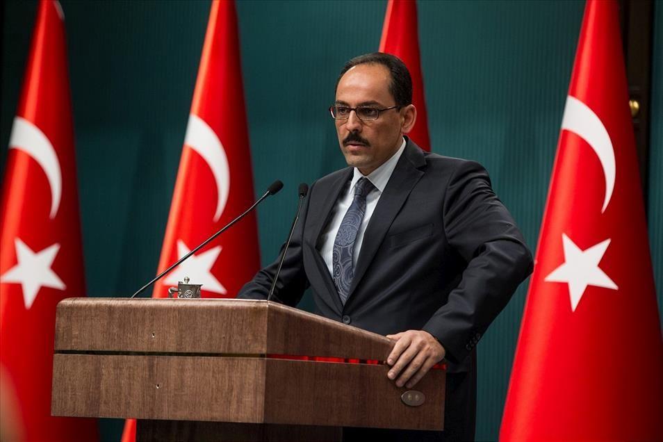 Калын: Россия, курды и оскорбления Президента